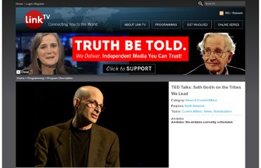 http://www.linktv.org/programs/ted-talks-seth-godin
