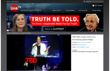 http://www.linktv.org/programs/ted-talks-sarah-jones