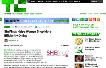 http://techcrunch.com/2011/01/23/shefinds-helps-women-shop-more-efficiently-online/