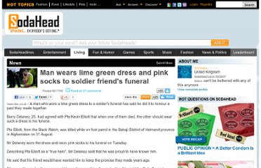 http://www.sodahead.com/living/man-wears-lime-green-dress-and-pink-socks-to-soldier-friends-funeral/news-23291/