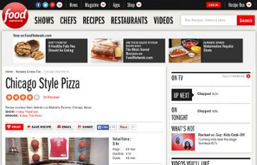 http://www.foodnetwork.com/recipes/follow-that-food/chicago-style-pizza-recipe/index.html