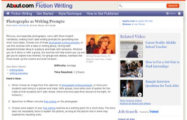 http://fictionwriting.about.com/od/writingexercises/ht/gettingideas.htm