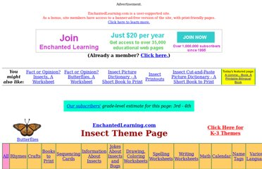 http://www.enchantedlearning.com/themes/insects.shtml