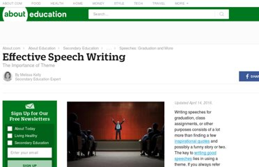 http://712educators.about.com/cs/speeches/a/speechwriting.htm