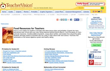 http://www.teachervision.fen.com/foods/teacher-resources/6621.html