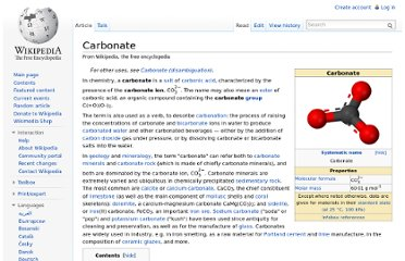 http://en.wikipedia.org/wiki/Carbonate