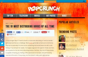 http://www.popcrunch.com/the-10-most-disturbing-books-of-all-time/