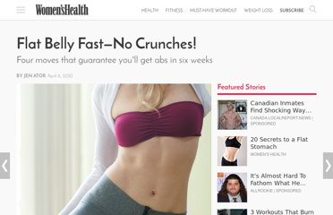 http://www.womenshealthmag.com/fitness/flat-tummy-workout