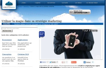 http://blog.creationdln.ca/marketing/utiliser-la-magie-dans-sa-strategie-marketing-479.html