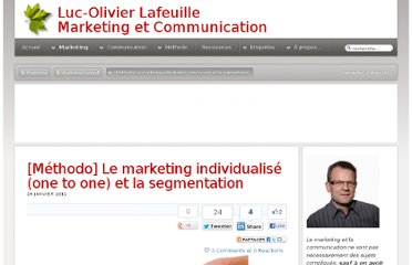 http://luc-olivier.com/marketing/general/177-le-marketing-individualise-one-to-one-et-la-segmentation
