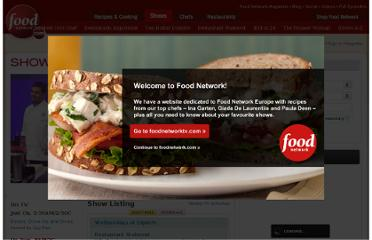 http://www.foodnetwork.com/shows/index.html