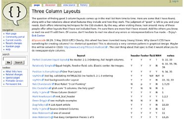 http://css-discuss.incutio.com/wiki/Three_Column_Layouts