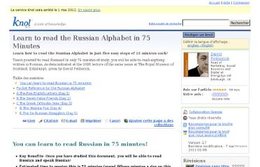 http://knol.google.com/k/learn-to-read-the-russian-alphabet-in-75-minutes#