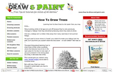 http://www.how-to-draw-and-paint.com/how-to-draw-trees.html