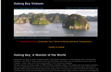 http://www.halongbay-vietnam.com/halong_bay_overviews.htm