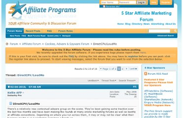 http://affiliate-marketing-forums.5staraffiliateprograms.com/cookies-adware-spyware-forum/21153-directcpv-loudmo.html