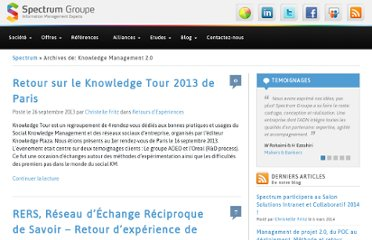 http://www.spectrumgroupe.fr/tag/knowledge-management-2-0/