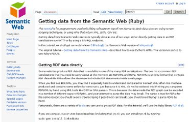 http://semanticweb.org/wiki/Getting_data_from_the_Semantic_Web_(Ruby)