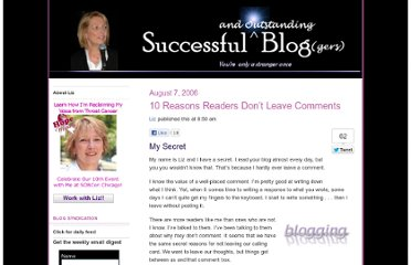http://www.successful-blog.com/1/10-reasons-readers-dont-leave-comments/