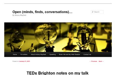 http://www.antonymayfield.com/2011/01/21/tedx-brighton-notes-on-my-talk/