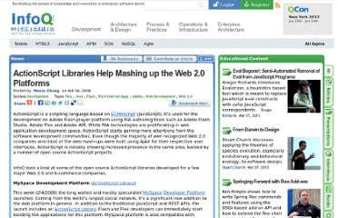 http://www.infoq.com/news/2008/02/actionscript-libs-for-mashup