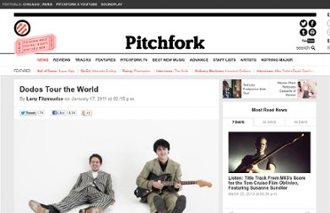 http://pitchfork.com/news/41238-dodos-tour-the-world/
