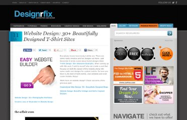 http://designrfix.com/inspiration/website-design-30-beautifully-designed-tshirt-sites