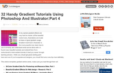 http://www.1stwebdesigner.com/tutorials/32-handy-gradient-tutorials-using-photoshop-and-illustratorpart-4/