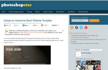 http://www.photoshopstar.com/web-design/band-website-template/