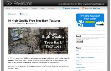 http://sixrevisions.com/freebies/textures/10-high-quality-free-tree-bark-textures/