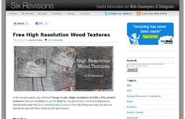 http://sixrevisions.com/freebies/textures/free-high-resolution-wood-textures/