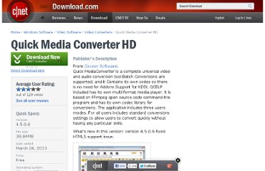 http://download.cnet.com/Quick-Media-Converter-HD/3000-2194_4-10787822.html
