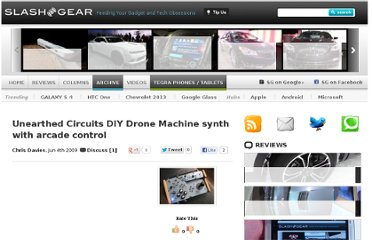 http://www.slashgear.com/unearthed-circuits-diy-drone-machine-synth-with-arcade-control-0445989/