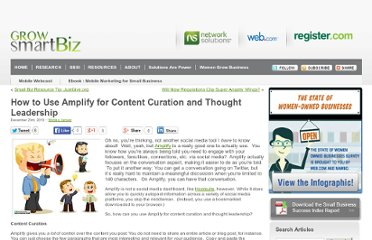 http://www.networksolutions.com/smallbusiness/2010/12/how-to-use-amplify-for-content-curation-and-thought-leadership/