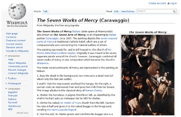 http://en.wikipedia.org/wiki/The_Seven_Works_of_Mercy_(Caravaggio)