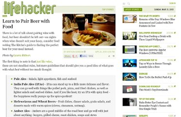 http://lifehacker.com/5523637/learn-to-pair-beer-with-food