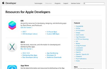 http://developer.apple.com/resources/