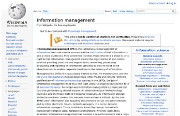http://en.wikipedia.org/wiki/Information_management