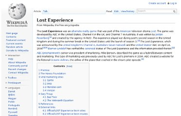 http://en.wikipedia.org/wiki/Lost_Experience#cite_note-d-abc_press-1