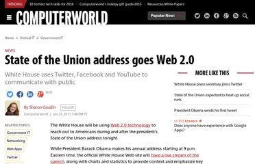 http://www.computerworld.com/s/article/9206300/State_of_the_Union_address_goes_Web_2.0