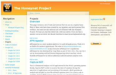 http://www.honeynet.org/project
