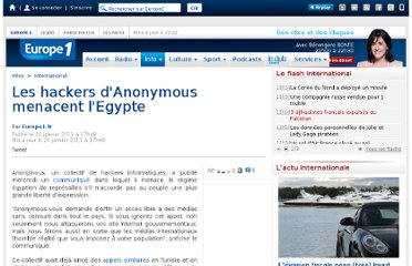 http://www.europe1.fr/International/Les-hackers-d-Anonymous-menacent-l-Egypte-387691/