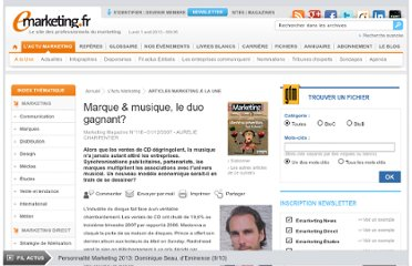http://www.e-marketing.fr/Marketing-Magazine/Article/Marque-musique-le-duo-gagnant--22538-1.htm