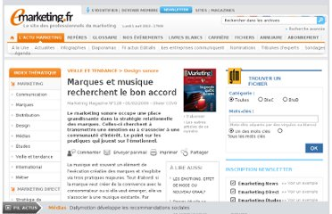 http://www.e-marketing.fr/Marketing-Magazine/Article/Marques-et-musique-recherchent-le-bon-accord-29446-1.htm