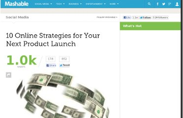 http://mashable.com/2011/01/26/product-launch-web-strategies/