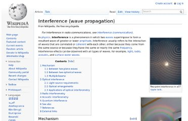 http://en.wikipedia.org/wiki/Interference_(wave_propagation)