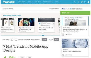 http://mashable.com/2011/01/26/mobile-app-design-trends/