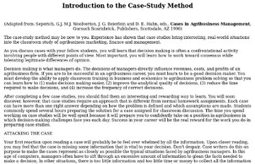 How to format a case study in apa