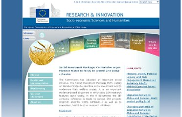 http://ec.europa.eu/research/social-sciences/index_en.html