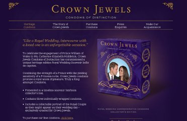 http://www.crownjewelscondoms.com/heritage.html